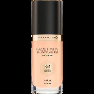 Max Factor_Facefinity All Day Flawless 3 w 1_kryjący podkład do twarzy w płynie ivory 42, 30 ml_1