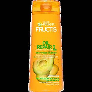 Garnier Fructis_Oil Repair 3_szampon wzmacniający do włosów suchych i łamliwych, 400 ml