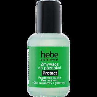 Hebe Professional_Protect_bezacetonowy zmywacz do paznokci naturalnych i sztucznych, 50 ml
