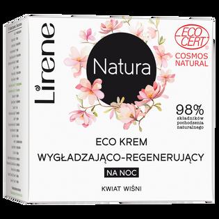 Lirene_Natura Eco_wygładzająco-regenerujący krem do twarzy na noc, 50 ml
