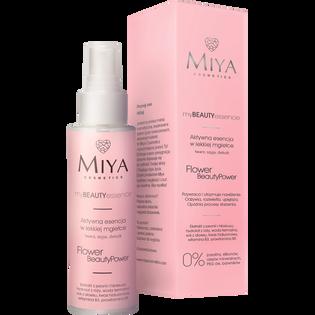 Miya Cosmetics_My Beauty Essence_aktywna esencja do twarzy z ekstraktem z róży, peoni, hibiskusa, 100 ml