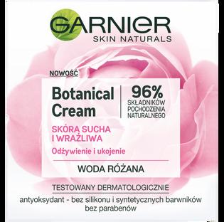 Garnier_Botanical Cream_nawilżający krem z wodą różaną skóra sucha i wrażliwa, 50 ml
