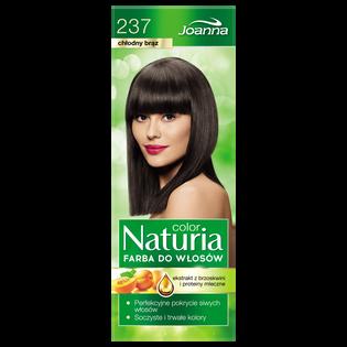 Joanna_Naturia Color_farba do włosów 237 chłodny brąz, 1 opak.