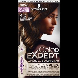 Schwarzkopf_Color Expert_farba do włosów 4.0 chłodny brąz, 1 opak.