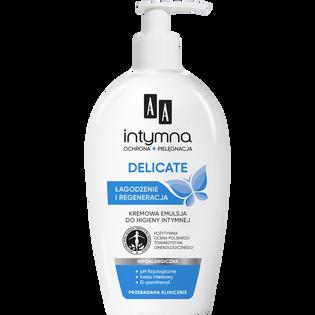 AA_Intymna Ochrona & Pielęgnacja Delicate_kremowa emulsja do higieny intymnej, 300 ml