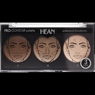 Hean_Pro-Contour_paleta podkładów konturujących do twarzy, 7 g_1
