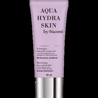 Nacomi_Aqua Hydra Skin_koktajl do twarzy o działaniu nawilżającym, 85 ml