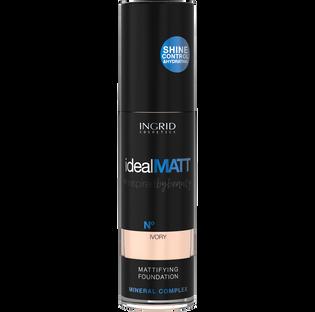 Ingrid_Ideal Matt_podkład matujący w płynie do twarzy 301, 30 ml