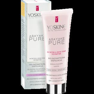 Yoskine_Asayake Pure_bio-enzymatyczna eksfoliacja do twarzy, 75 ml
