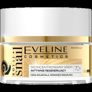 Eveline Cosmetics_Royal Snail_skoncentrowany krem do twarzy na dzień i noc 70+, 50 ml_1