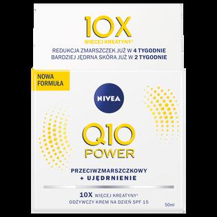 Nivea_Q10 Power_krem do twarzy przeciwzmarszczkowy i ujędrniający SPF15, 50 ml