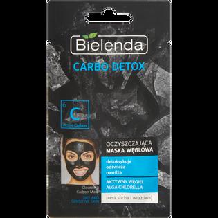 Bielenda_Carbo Detox_oczyszczająca maska węglowa do twarzy, 8 g