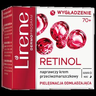 Lirene_Retinolowe Odżywienie_naprawczy krem przeciwzmarszczkowy do twarzy na dzień i noc 70+, 50 ml