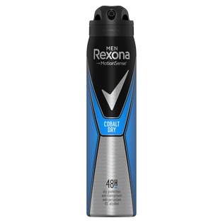 Rexona_Cobalt Dry_antyperspirant męski w sprayu, 250 ml