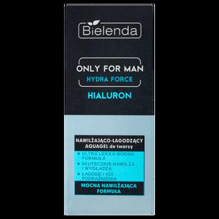 Bielenda_Only for Man Hydra Force_aquagel do twarzy nawilżająco-łagodzący, 50 ml