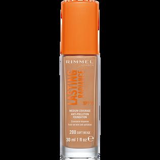 Rimmel_Lasting Radiance_rozświetlający podkład do twarzy soft beige 200, SPF, 30 ml_1