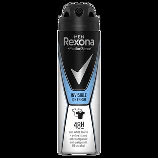 Rexona_Men Invisible Ice Fresh_antyperspirant męski w sprayu, 150 ml