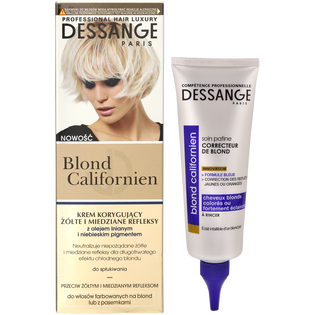 Dessange Professional Hair Luxury_Blond Californien_krem koloryzujący, 125 ml