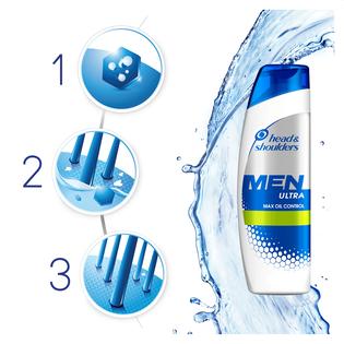 Head & Shoulders_Men Max Oil Control_szampon przeciwłupieżowy do włosów, 270 ml_2