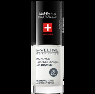 Eveline Cosmetics_Nail Therapy Professional_odżywka do paznokci utwardzająca z diamentami, 5 ml_1