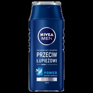 Nivea Men_Power_przeciwłupieżowy wzmacniający szampon do włosów męski, 400 ml
