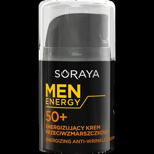 Soraya_Men Energy_energizujący krem przeciwzmarszczkowy do twarzy 50+ męski, 50 ml_1