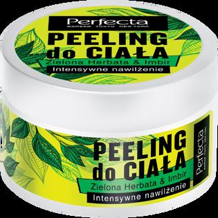 Perfecta_Zielona Herbata & Imbir_intensywnie nawilżający peeling do ciała, 225 g