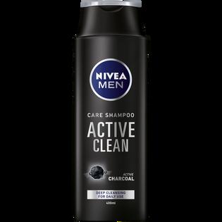 Nivea Men_Active Clean_szampon do włosów dla mężczyzn z węglem aktywnym, 400 ml