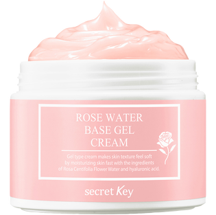 Secret Key_Rose Water_nawilżający żelowy krem do twarzy z wyciągiem z róży stulistnej, 100 g_1