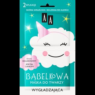 AA_Bąbelkowa_maska do twarzy wygładzająca, 2x4 ml/1 opak.
