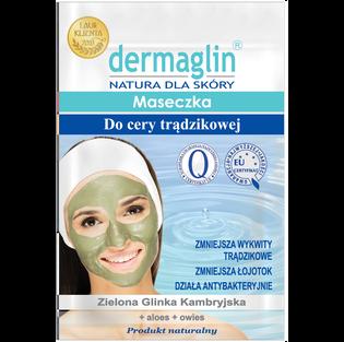 Dermaglin_maseczka do twarzy do cery trądzikowej, 20 g