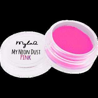Mylaq_My Neon Dust Pink_pyłek do zdobienia paznokci, 1 opak._2