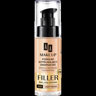 AA_Make Up_podkład wypełniający zmarszczki do twarzy light beige 103, 30 ml