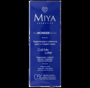 Miya Cosmetics_myWONDERbalm Call Me Later_krem do twarzy regenerująco- odżywczy z masłem shea, 75 ml_2
