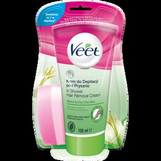 Veet_krem do depilacji pod prysznic, 135 ml
