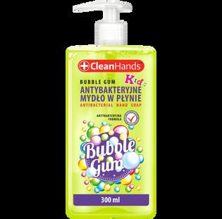 Cleanhands_Guma balonowa_antybakteryjne mydło do rąk dla dzieci, 250 ml