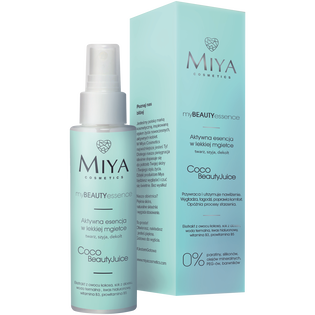 Miya Cosmetics_My Beauty Essence_aktywna esencja do twarzy z kokosem i aloesem, 100 ml