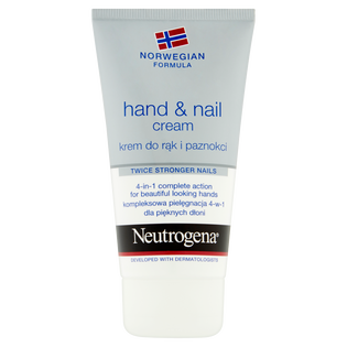 Neutrogena_Formuła Norweska_nawilżający krem do rąk i paznokci, 75 ml