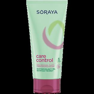 Soraya_Care & Control_oczyszczający żel do mycia twarzy, 150 ml