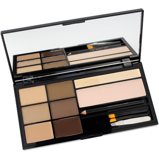 Revolution Makeup_Ultra Brow_zestaw do stylizacji brwi fair to medium, 1 opak._1