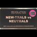 Revolution Makeup_New-Trals vs Neutral_paleta cieni do powiek, 11 g_2