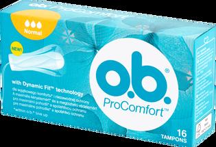 O.B._ProComfort Normal_tampony higieniczne, 16 szt./1 opak.