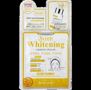 Bergamo_3 Step Whitening_3-etapowa maseczka rozjaśniająca z witaminą B3, 28 ml