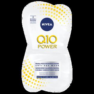 Nivea_Q10 Power_przeciwzmarszczkowa maska do twarzy, 15 ml