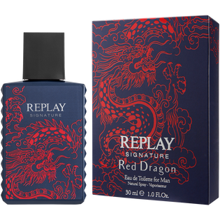Replay Signature_Red Dragon_woda toaletowa męska, 30 ml