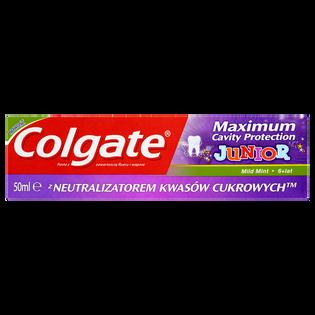 Colgate_Maximum Cavity Protection Junior_pasta do zębów dla dzieci 6+ lat, 50 ml