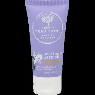 Treets Traditions_Healing in harmony_zestaw: lotion do ciała, 50 ml +  żel pod prysznic, 200 ml + pianka pod prysznic, 200 ml_3