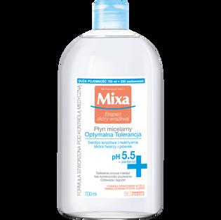 Mixa_płyn micelarny do twarzy i powiek dla skóry bardzo wrażliwej i reaktywnej, 700 ml