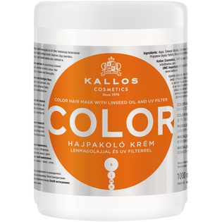 Kallos_Color_maska do włosów farbowanych, 1000 ml