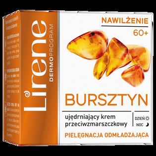 Lirene_Bursztynowa Odbudowa_ujędrniający krem przeciwzmarszczkowy do twarzy na dzień i noc 60+, 50 ml